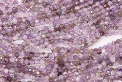 Kamienie Ametyst lawendowy 1368kp 2mm 1sznur
