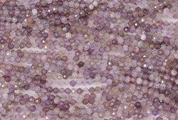 Kamienie Ametyst lawendowy 1369kp 3mm 1sznur