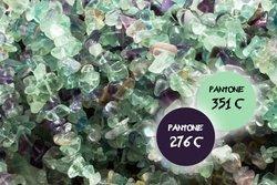 Kamienie Fluoryt sieczka 7276kp  3x8mm 1sznur