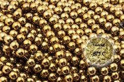 Kamienie Hematyt 3862kp 6mm 1sznur