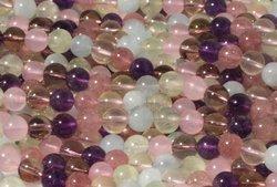 Kamienie Kwarc mix czakry7704kp 8mm 1szn.