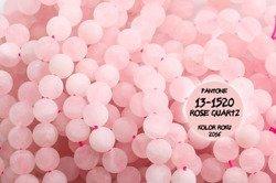 Kamienie Kwarc różowy 5402kp 6mm 1sznur