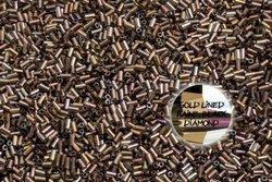TOHO TB 01 999 Gold-Lined Rainbow Black Diamond 5g