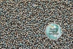 TOHO TR-11-1703 Gilded Marble Turquoise 50g