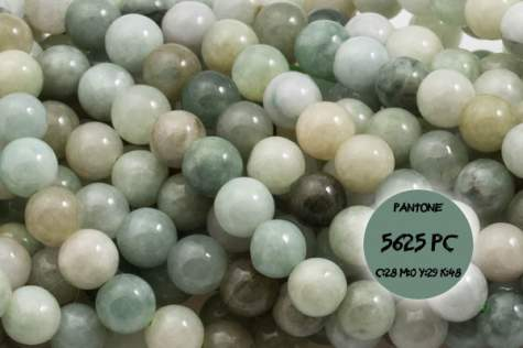 Jadeit Birma 3335kp 6mm 1sztuka