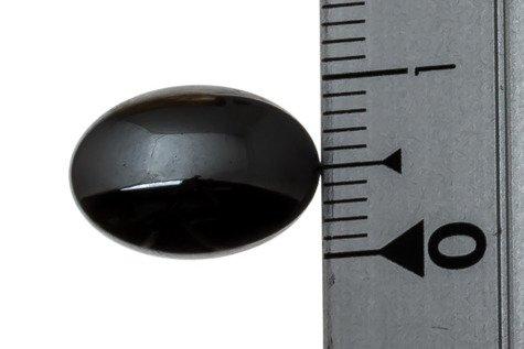 Kaboszony Hematyt 60KB 12x16mm 1sztuka