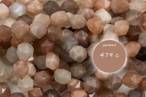 Kamień Księżycowy 6045kp 10mm 1sznur