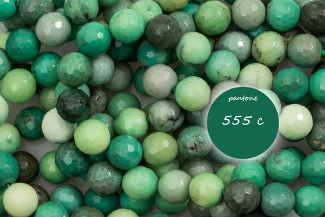 Kamienie Agat grass 6056kp 8mm 1sznur