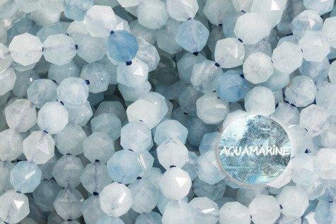 Kamienie Akwamaryn 7351kp 4mm 1sznur
