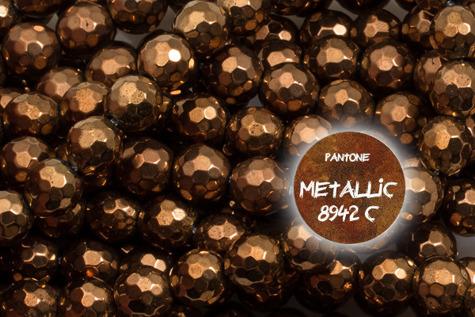 Kamienie Hematyt 4614kp 3mm 1sznur