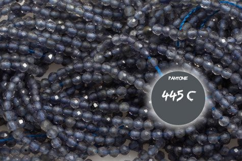 Kamienie Iolit 5670kp 2mm 1sznur