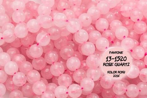 Kamienie Kwarc różowy 7185kp 4mm 1sznur