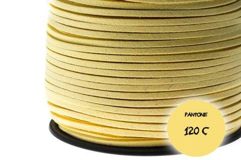 Rzemień zamszowy 020tz 3mm 1m