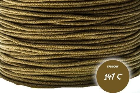 Sznurek  bawełniany#123 1mm 5m