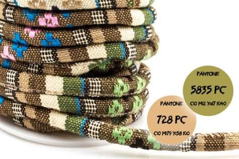 Sznurek bawełniany etno #705 6mm 1cm