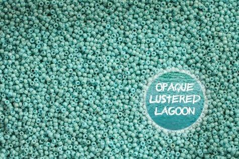 TOHO TR-08-1611 Opq Lustered Lagoon 10g